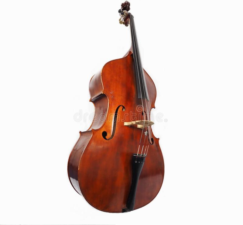 The double bass made in Italy stock image