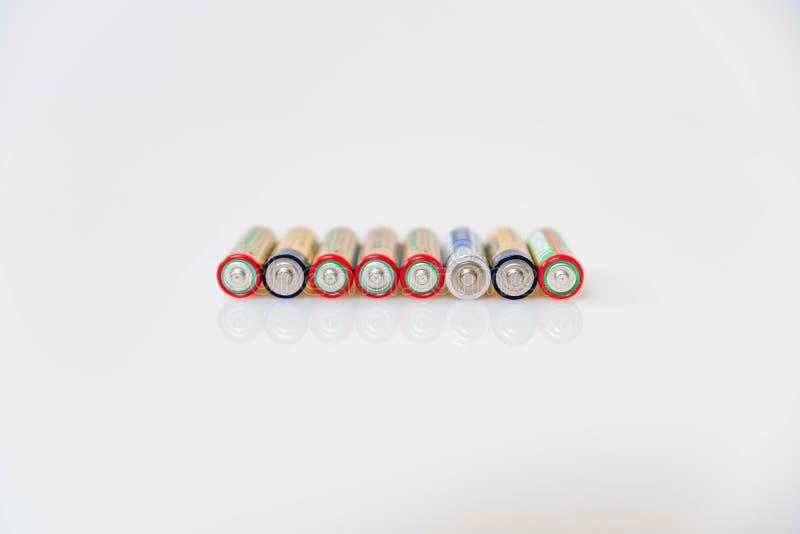Double batteries image libre de droits