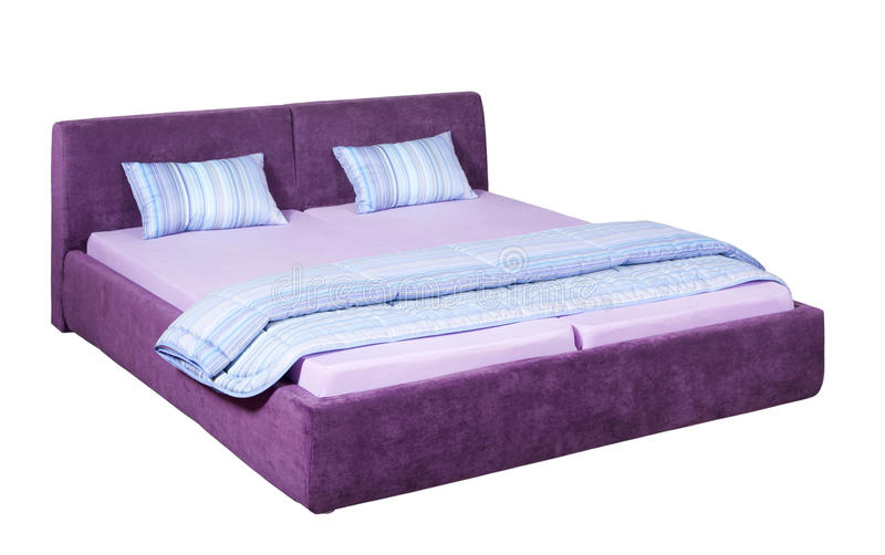 Double bed royalty free stock images