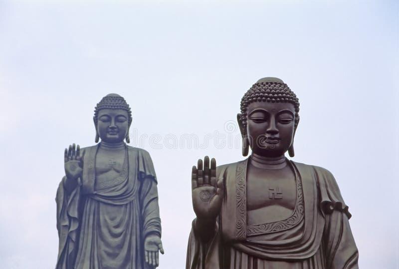 Double Bouddha photo stock