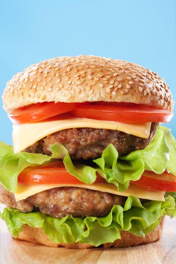 Free Double Cheeseburger Stock Image - 19009401