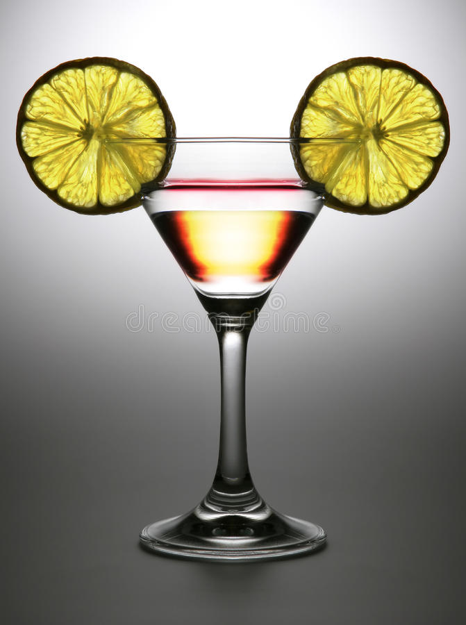 Double cocktail stock photography