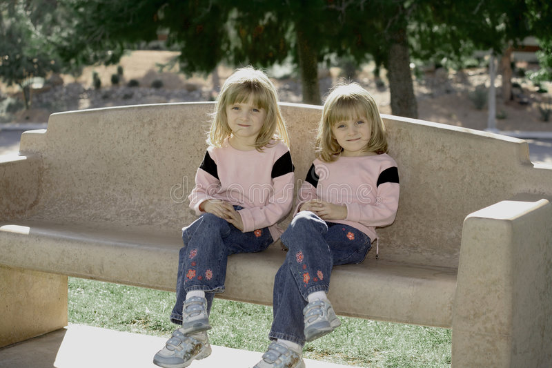 Double Cute royalty free stock photos