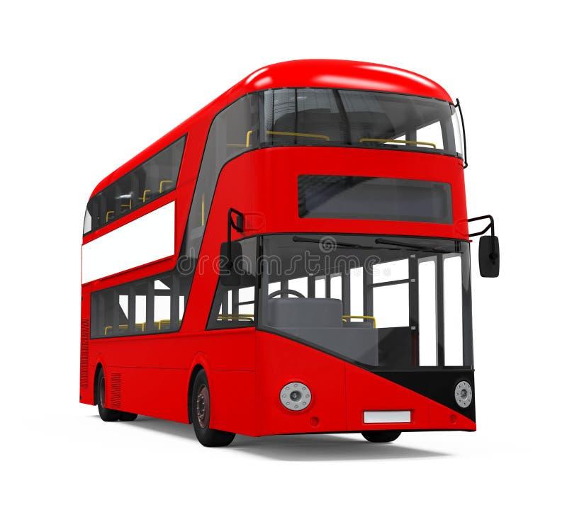 Double Decker Bus vector illustration