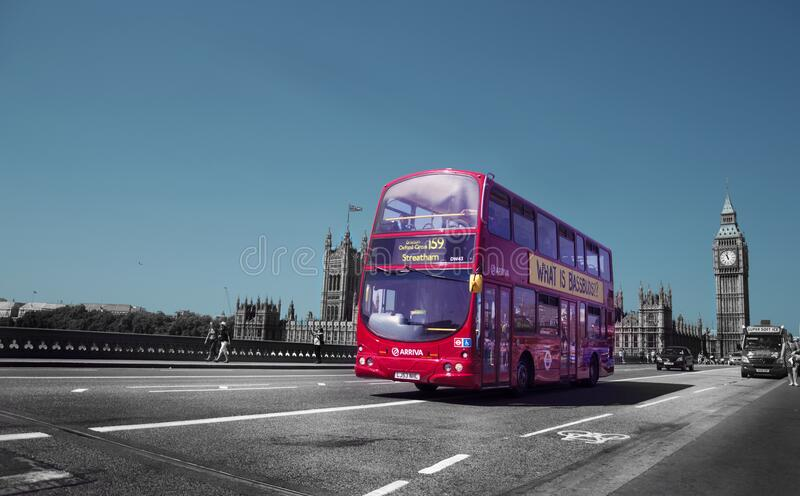 Double Decker Bus In London, England Free Public Domain Cc0 Image