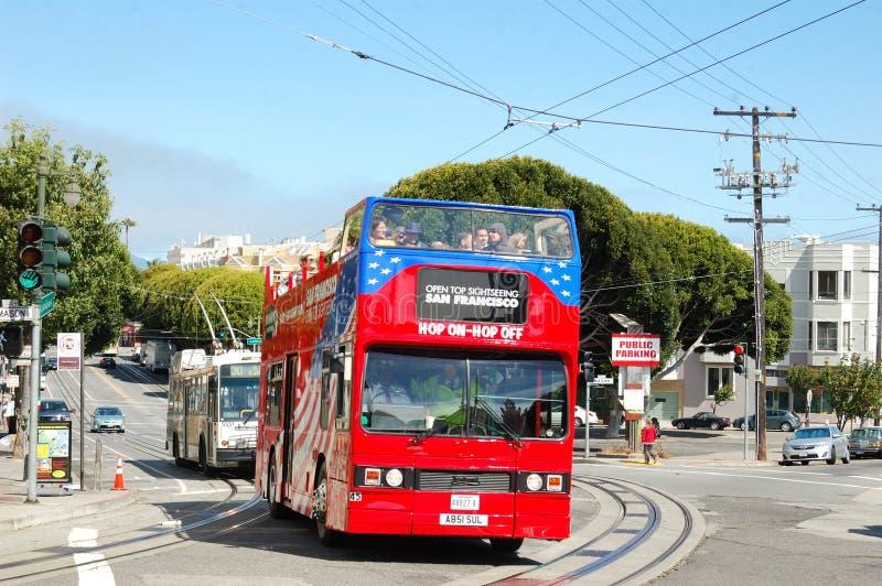 Download Double Decker Bus In SFO Editorial Photo - Image: 25347471