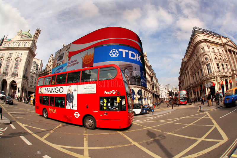 Download Double Decker In London, England Editorial Photo - Image: 27808376