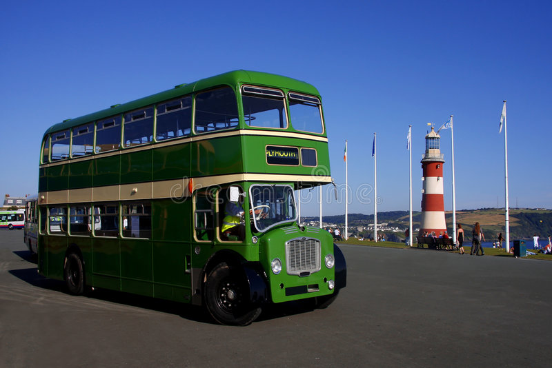 Download Double-decker, Plymouth, England, Uk Royalty Free Stock Image - Image: 6216176