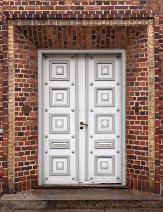 Download Double Door stock image. Image of brick, handle, double - 13443713