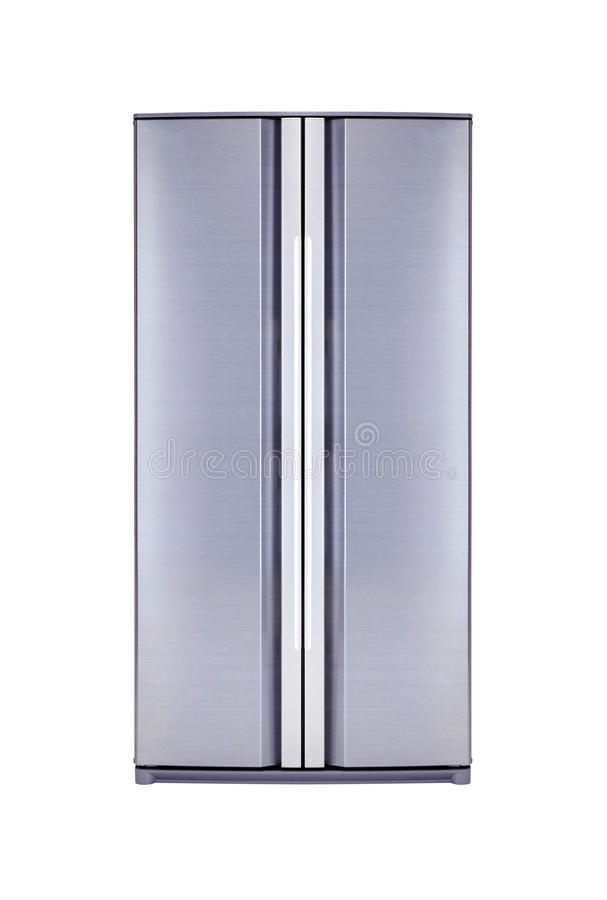 Double door freezer royalty free stock image