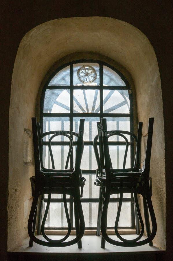 Double double chaise image libre de droits
