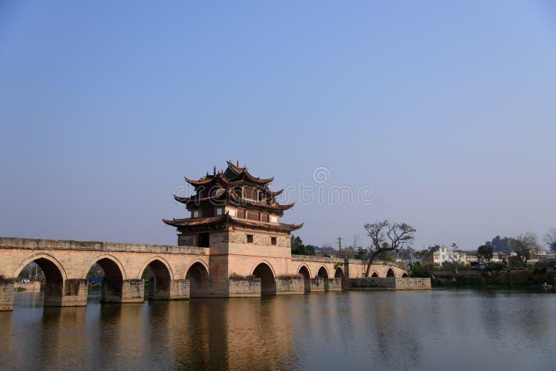 Double Dragon Bridge stock photos