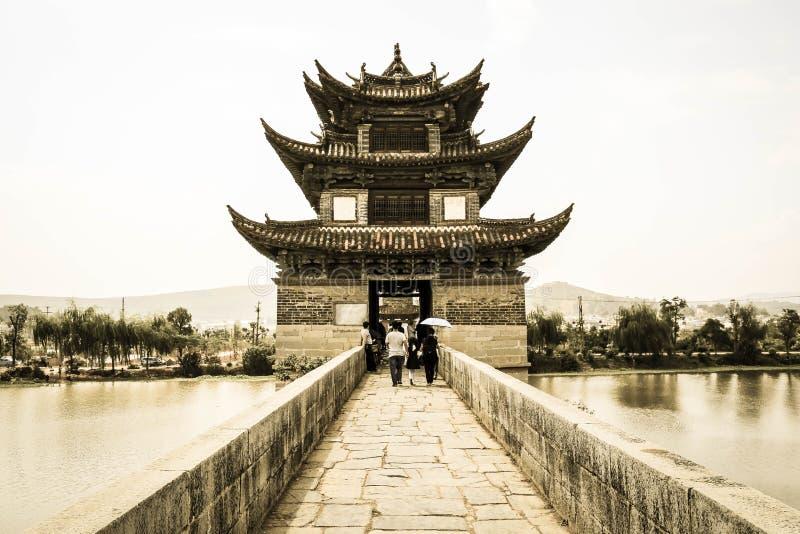 Double Dragon Bridge stock images