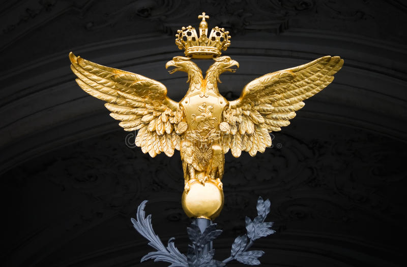 Download Double Eagle - Emblem Of Russia Stock Image - Image: 19900833