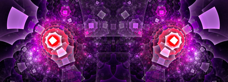 Abstract Artwork Efflorescence Stock Illustration