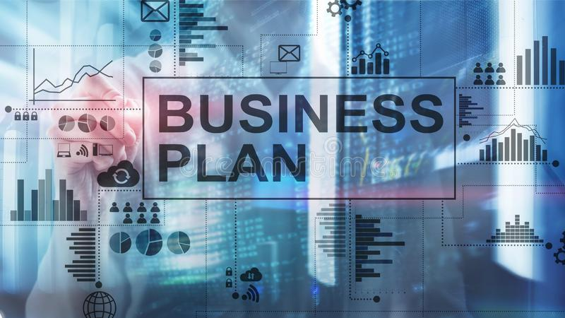 Double exposure Business plan and strategy concept. Double exposure Business plan and strategy concept stock photography