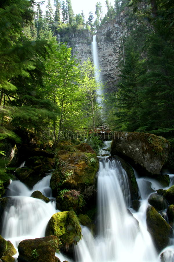 Free Double Falls Royalty Free Stock Images - 10212459
