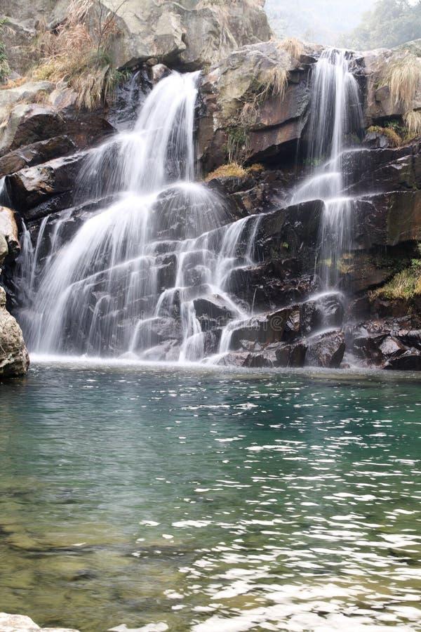 Download Double falls stock image. Image of pair, splash, stream - 17407261