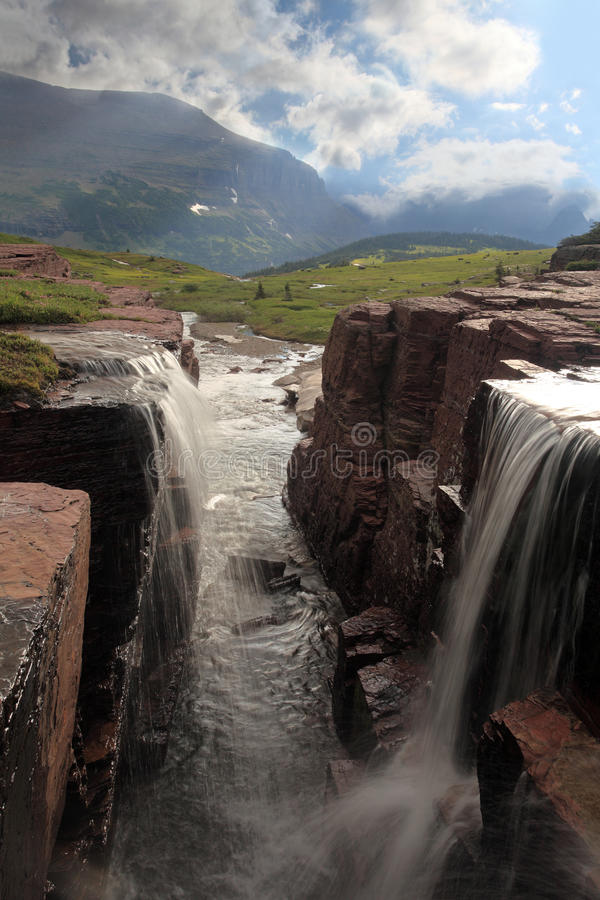 Double Falls Royalty Free Stock Images