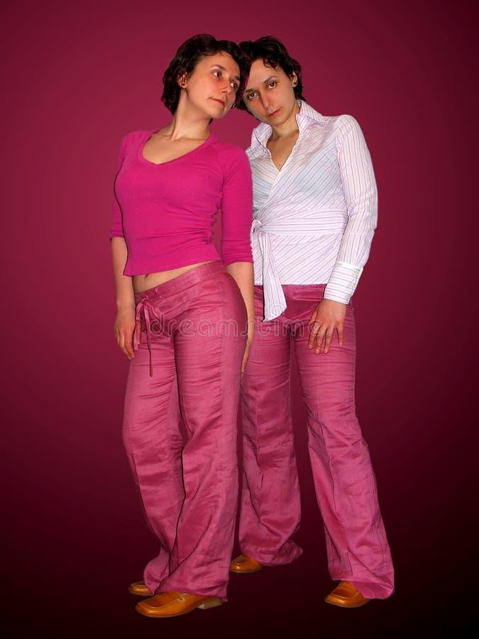 Double Fashion royalty free stock image