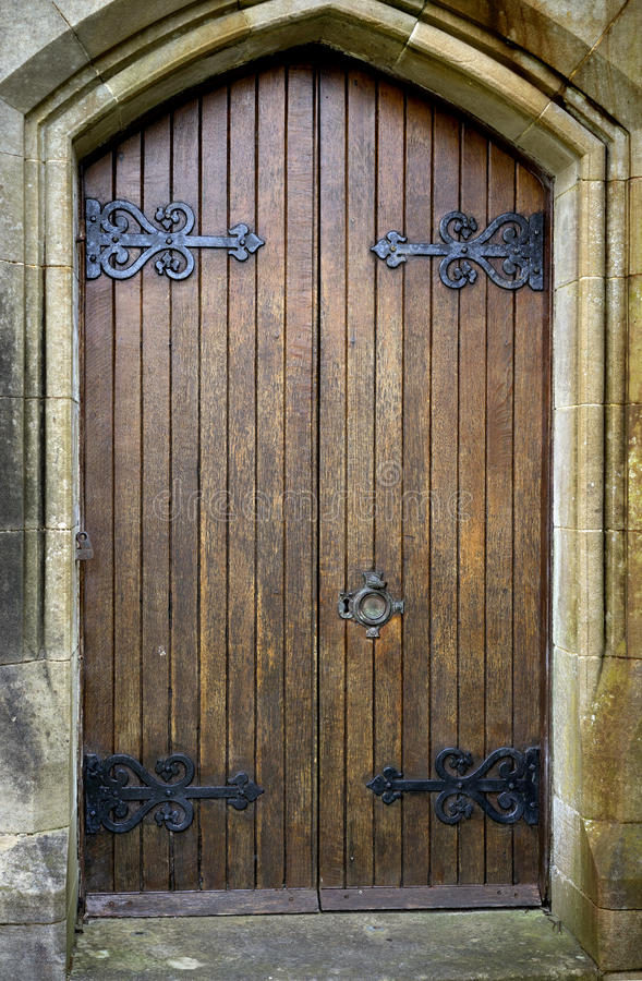 Download Double Gothic Doors Stock Photo Image Of Arch Style