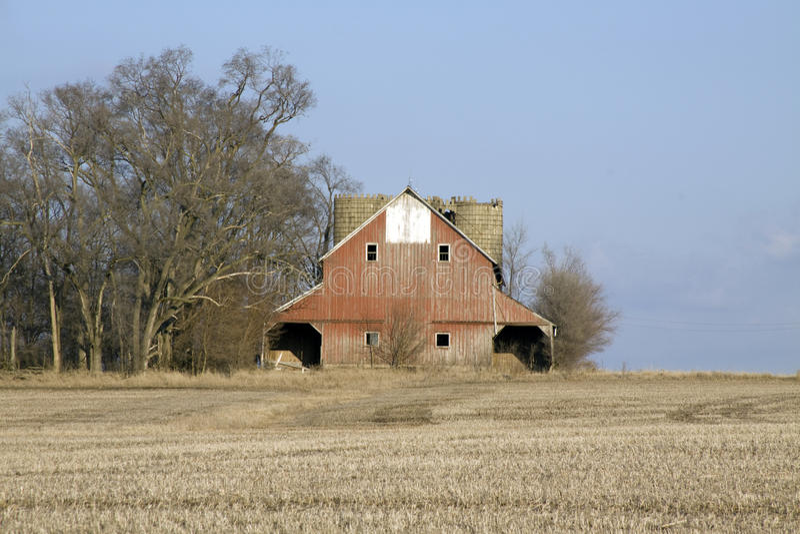 Double grange. photo libre de droits