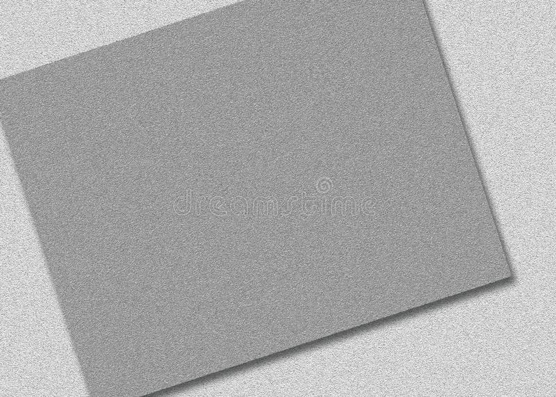 Double grey papers with abstract pattern royalty free illustration