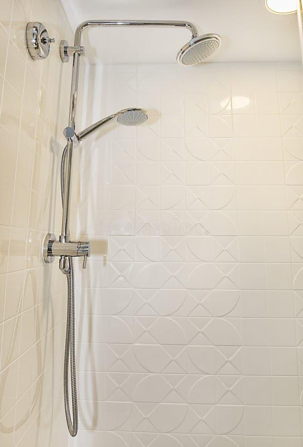 Double Headed Shower Fixture stock photos
