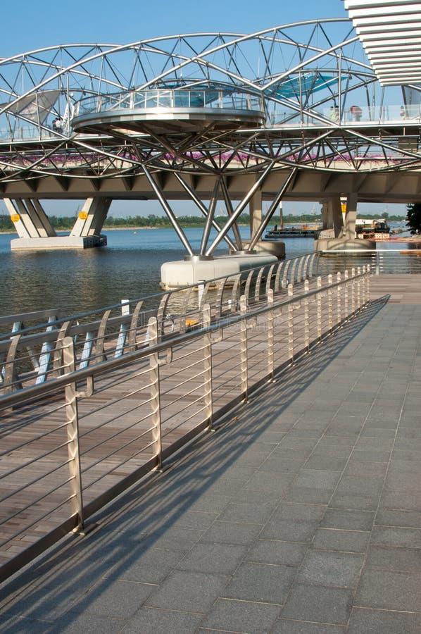 The Double Helix Bridge Editorial Photo