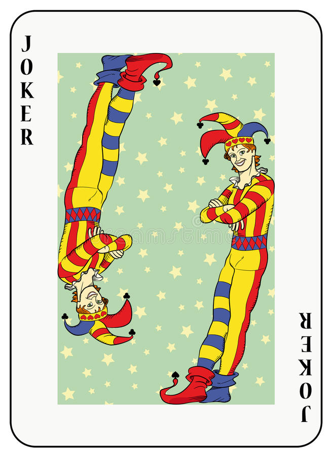 Download Double Joker Royalty Free Stock Image - Image: 12877186