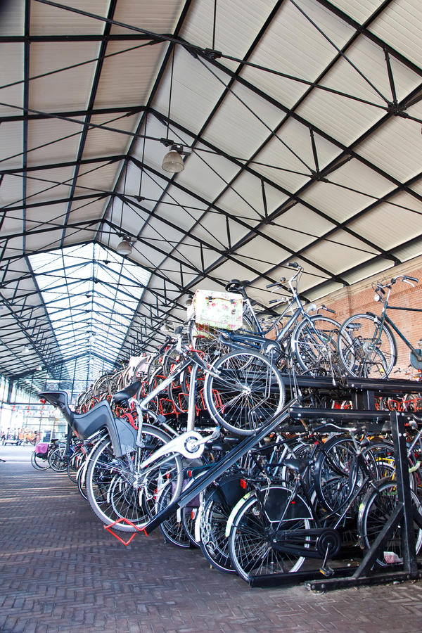 Download Double Parking For Bicycles Stock Photos - Image: 28090383