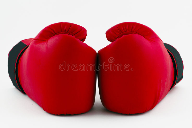 Double punch royalty free stock images