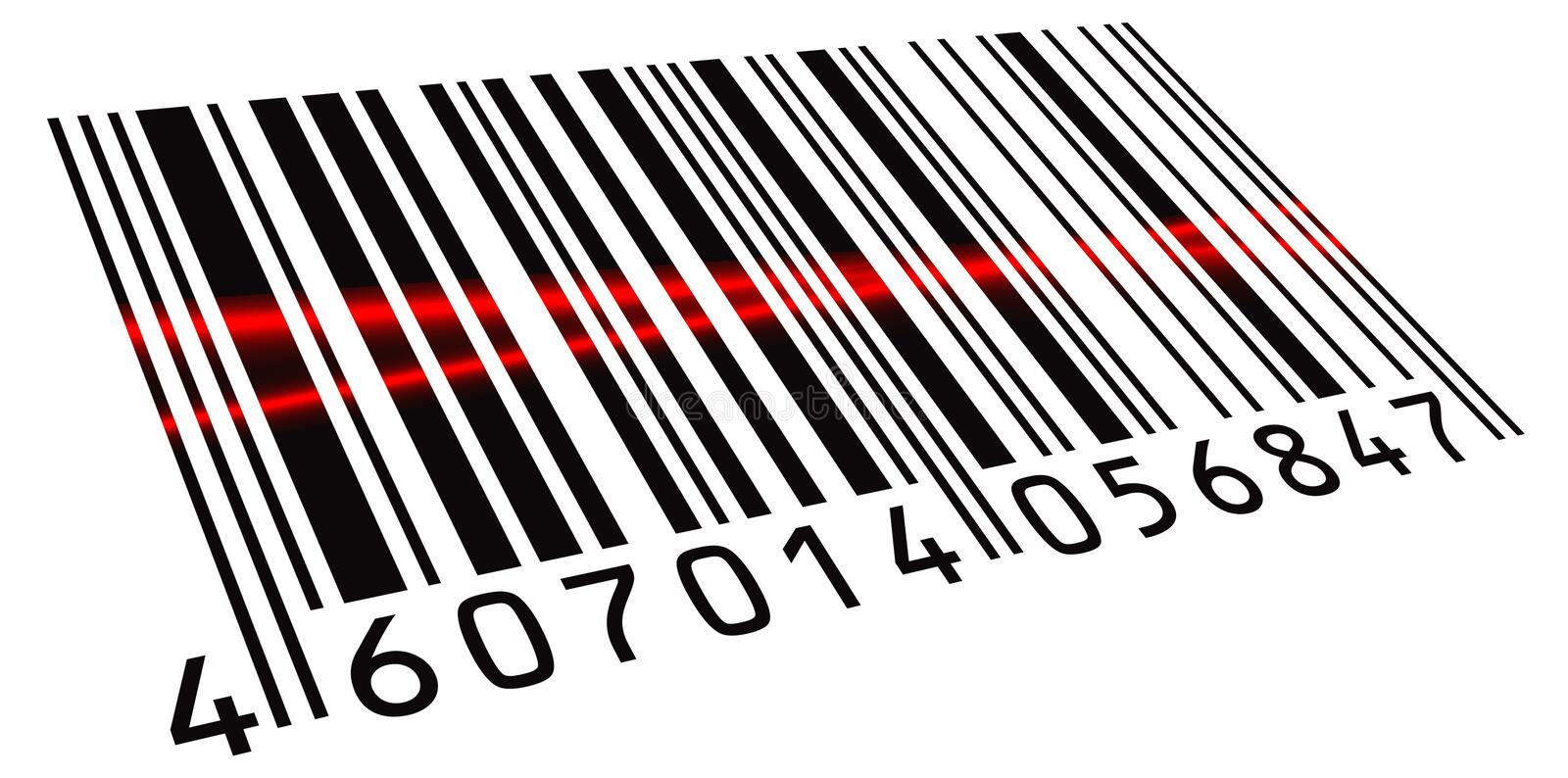 Download Double scanned BarCode stock vector. Image of barcode - 19945938