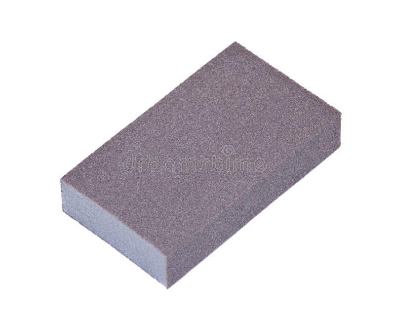 Double sided multi grit jumbo sanding sponge stock photography
