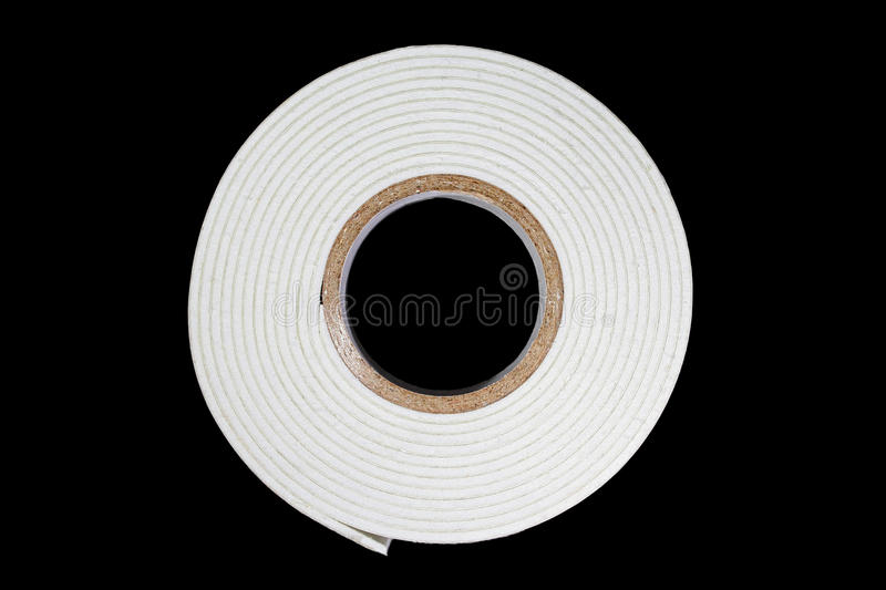Double-sided self-adhesive tape royalty free stock photo
