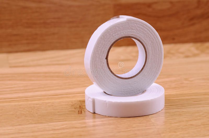Double sided tape stock image