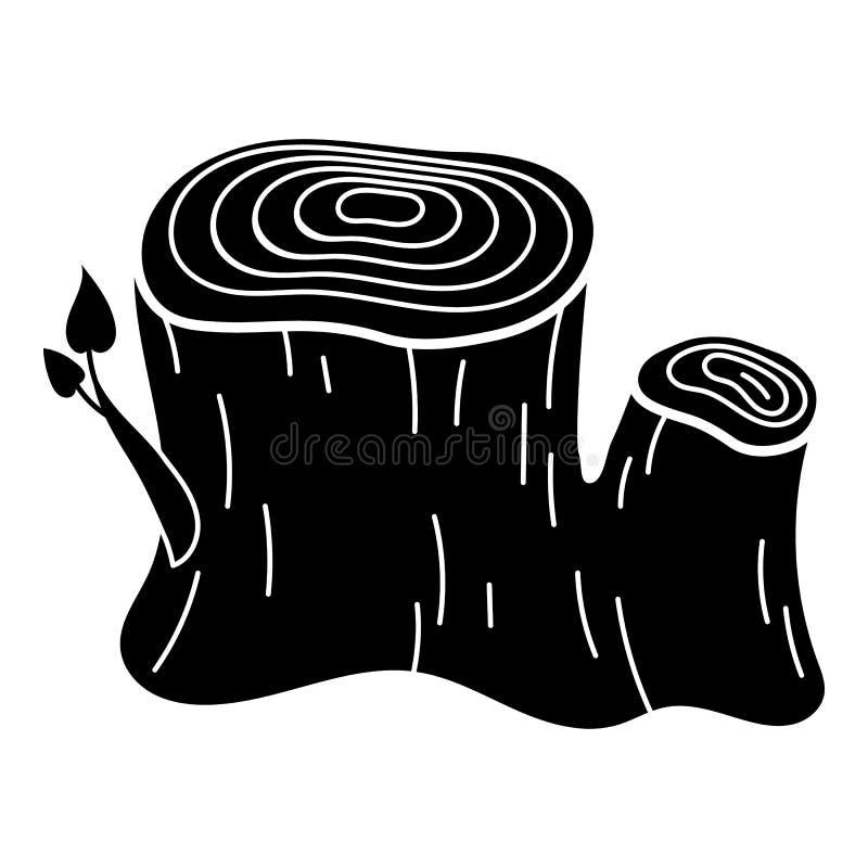 Free Double Stump Icon, Simple Style Royalty Free Stock Photos - 139155508