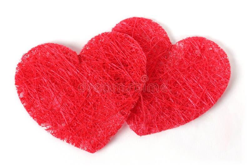 Double texture heart