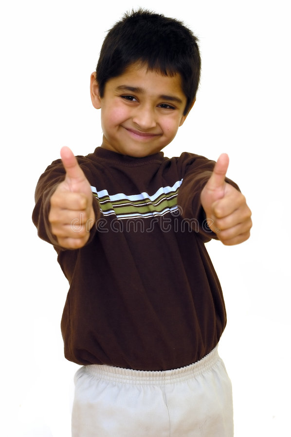 Download Double Thumbs up stock image. Image of leader, agree, lonely - 2114051