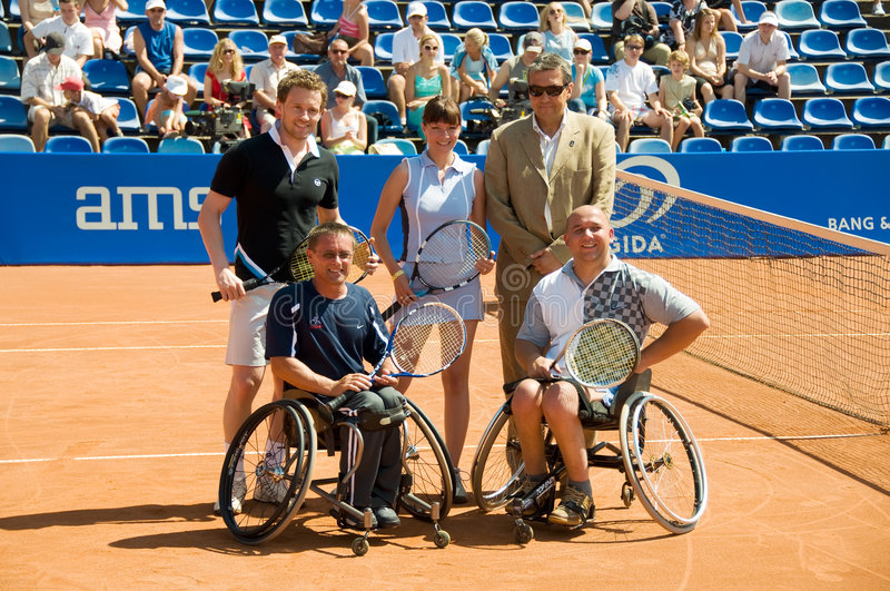Double VIP Players On Porsche Open 2008 Editorial Photography