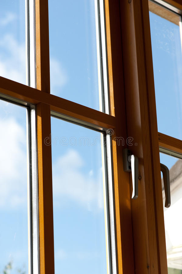 Double window royalty free stock image