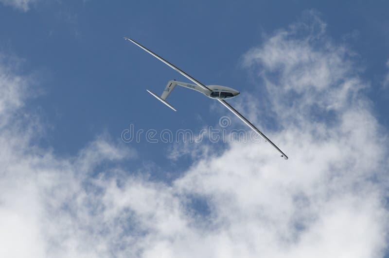 doubleseaterpoprad för airshow dg1000 royaltyfria foton