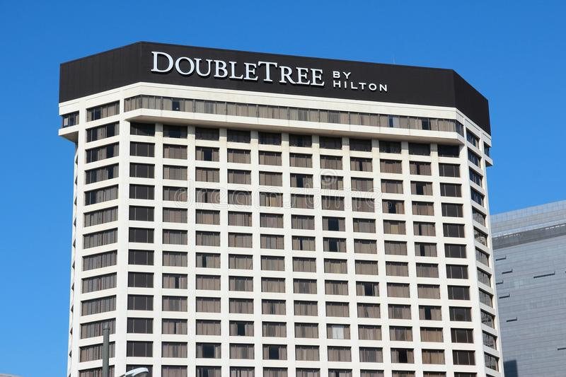 DoubleTree da Hilton fotografia stock libera da diritti