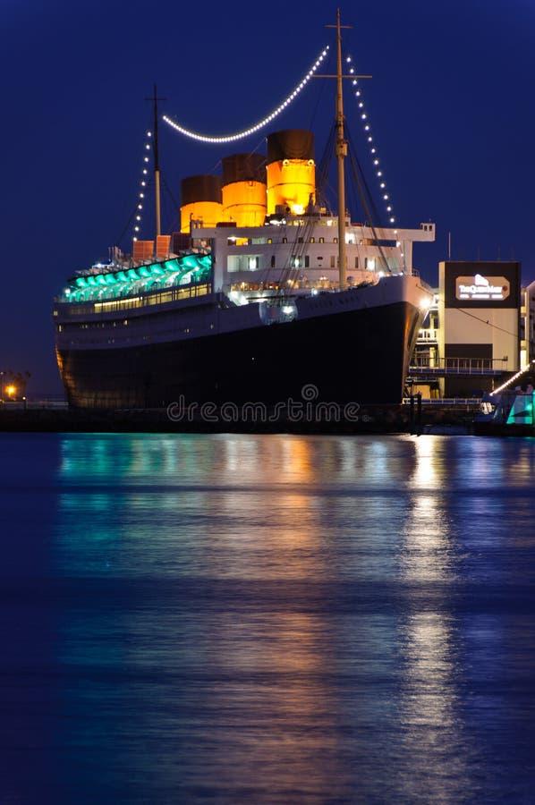 Doublure D Océan De Queen Mary Photo stock éditorial