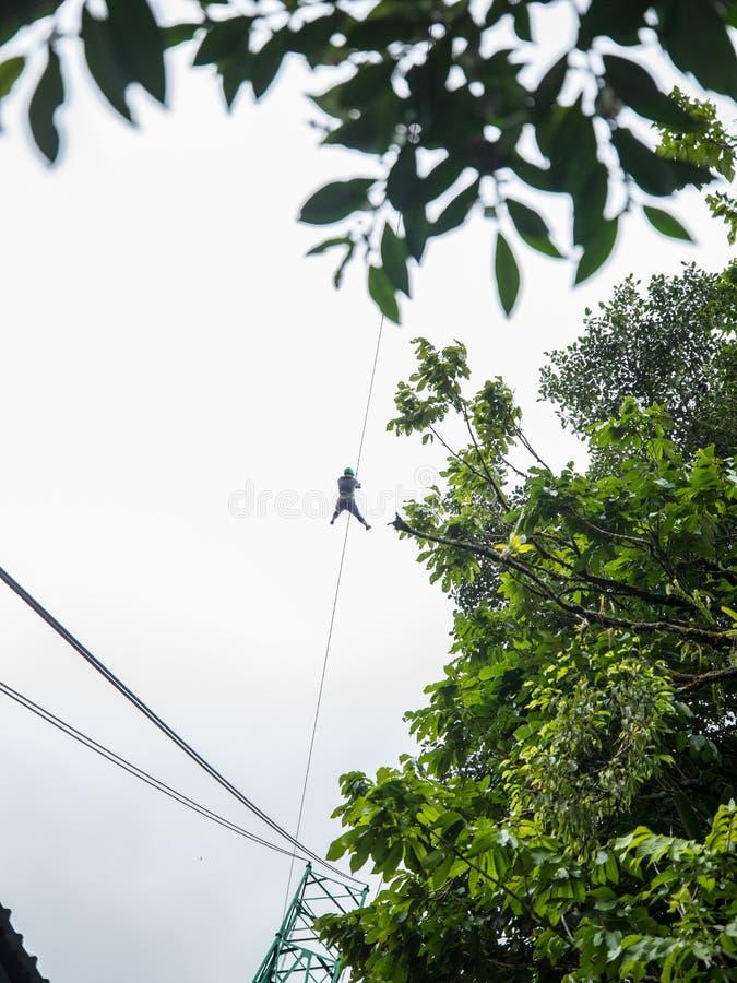 Doublure de fermeture éclair en Costa Rice photos libres de droits