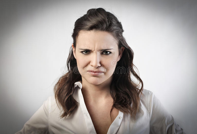 Download Doubt stock image. Image of girl, woman, doubt, expression - 23743947