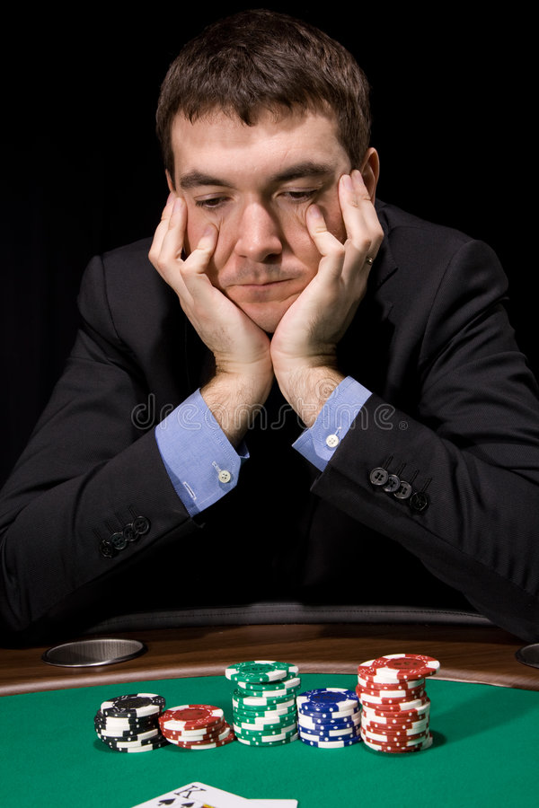 Download Doubt in the casino stock image. Image of leisure, luck - 8817813