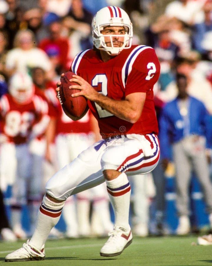 Doug Flutie New England Patriots. Former New England Patriots QB Doug Flutie (Scanned from Slide royalty free stock photos