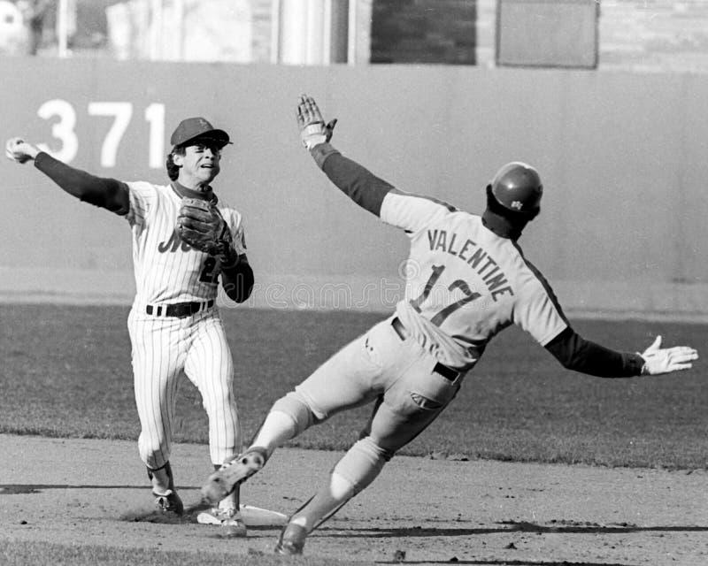 Doug Flynn. New York Mets shortstop Doug Flynn. (Image taken from B&W negative stock photography