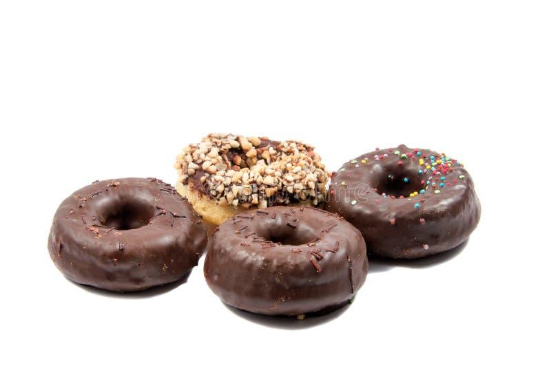 Doug hnut or donut on. Whitebackground cutout stock photos